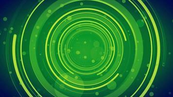 Fondo de túnel de tubo abstracto video
