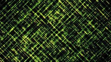 boucle de fond de lignes de croisement de haute technologie abstraite video