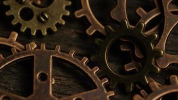 rotação de imagens de estoque de mostradores de relógio antigos e desgastados - mostradores de relógio 053