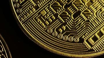 colpo rotante di bitcoin (criptovaluta digitale) - bitcoin 0059