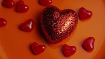 Imágenes de archivo giratorias tomadas de decoraciones y dulces de San Valentín - San Valentín 0038