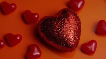 Imágenes de archivo giratorias tomadas de decoraciones y dulces de San Valentín - San Valentín 0039