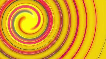 rotação do círculo colorido video