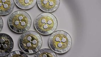 Tir rotatif de bitcoins d'ondulation (crypto-monnaie numérique) - ondulation de bitcoin 0002