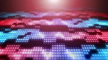 Abstract Electronics Pixels Sliding Background Loop video