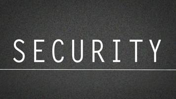 Security Thumbnail with Static