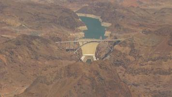 Aerial Footage of the Hoover Dam 4k