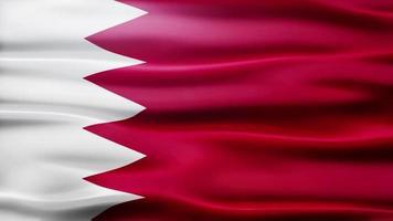 loop bandiera del bahrain video