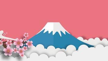 montagem de símbolos do japão video