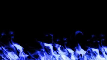 Fire Wall Blue Color