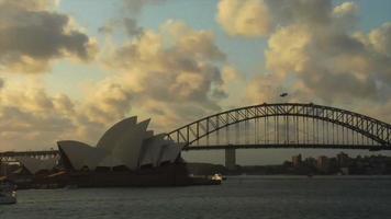 lapso de tempo da ópera de Sydney