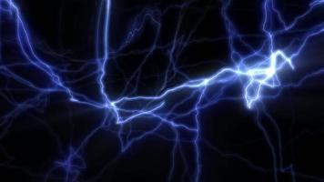 bucle de energía distorsionada abstracta
