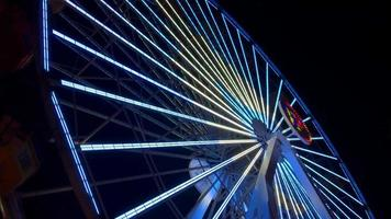 Riesenrad dreht sich 4k