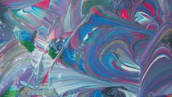 textura de pinturas rosa azul y blanco