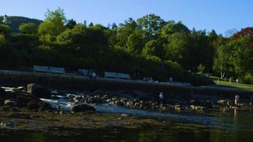 handzame clip van prachtige watervallen in Maine