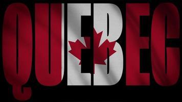 drapeau canada avec masque québec video