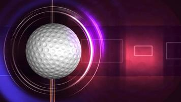 Abstract Golfball Background