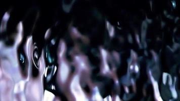 olas de agua fresca y refrescante video