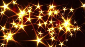Glittering stars background