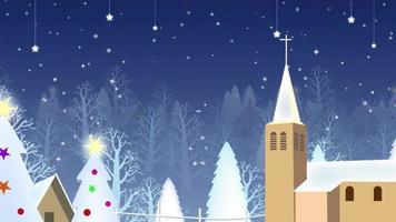 Weihnachtsdorf Hintergrund
