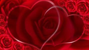 Red valentines' background
