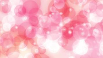 cerchi rosa che scorrono lateralmente