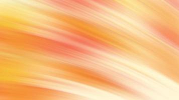 animação gradiente abstrata de loop sem costura laranja e amarelo video