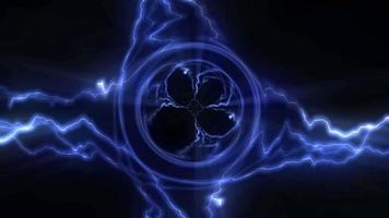 animazione del ciclo di energia elettrica