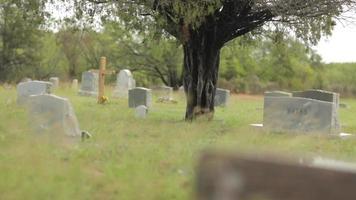 ein windiger Friedhof