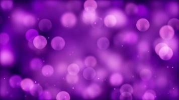 particelle che si muovono verso l'alto su sfondo viola