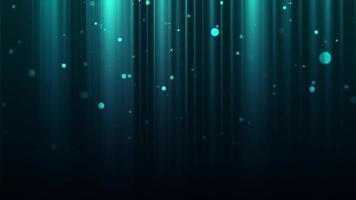 luces bokeh claras flotando sobre un fondo esmeralda oscuro con destellos