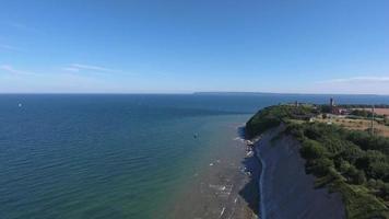 Coastal Landscape at Kap Arkona on Ruegen Island baltic Sea