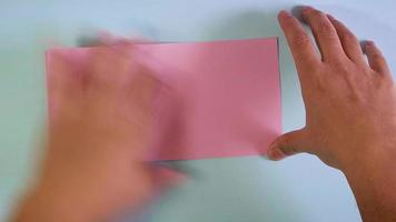 lapso de tempo de origami porco video