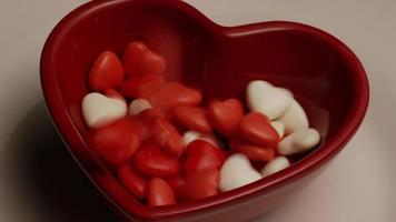 Imágenes de archivo giratorias tomadas de dulces de San Valentín - San Valentín 018