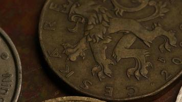 rotação de imagens de estoque de moedas monetárias internacionais - dinheiro 0377