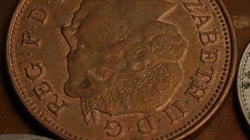 rotação de imagens de estoque de moedas internacionais - dinheiro 0378
