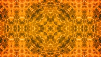 caleidoscópio abstrato looping sem costura video