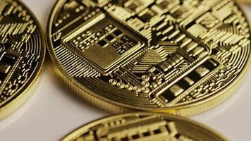 colpo rotante di bitcoin (criptovaluta digitale) - bitcoin 0147