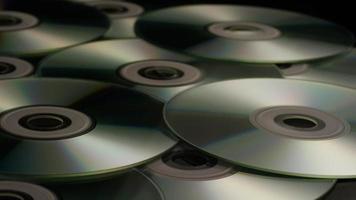 Disparo giratorio de discos compactos - cds 018
