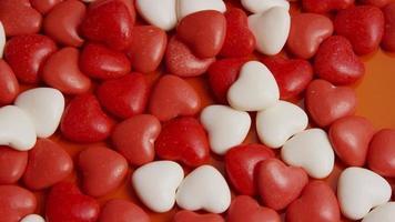 Imágenes de archivo giratorias tomadas de decoraciones y dulces de San Valentín - San Valentín 0049