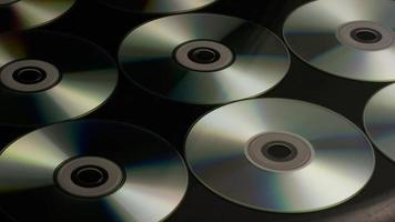 Disparo giratorio de discos compactos - cds 025