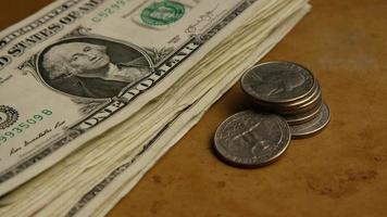 foto rotativa de dinheiro americano (moeda) - dinheiro 549