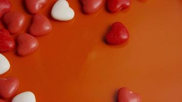 Imágenes de archivo giratorias tomadas de decoraciones y dulces de San Valentín - San Valentín 0051