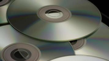 Disparo giratorio de discos compactos - cds 016