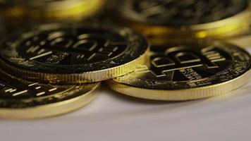 Tir rotatif de bitcoins (crypto-monnaie numérique) - bitcoin 0323