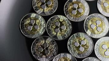 Tir rotatif de bitcoins (crypto-monnaie numérique) - ondulation bitcoin 0083 video