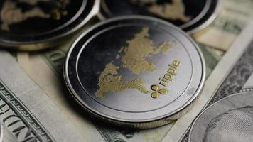 Tir tournant de bitcoins (crypto-monnaie numérique) - ondulation bitcoin 0276 video