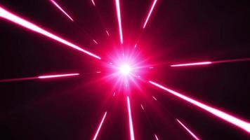 fundo do hiperespaço com explosão estelar brilhante video