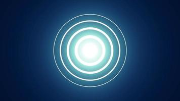 fundos de transição dinâmicos dentro e fora dos círculos video