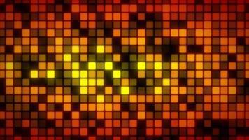 fundo de mosaico de padrões abstratos brilhantes video